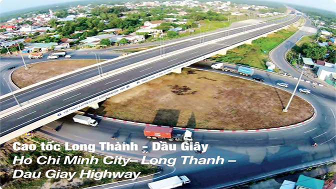 Highway Ho Chi Minh City - Long Thanh - Dau Day